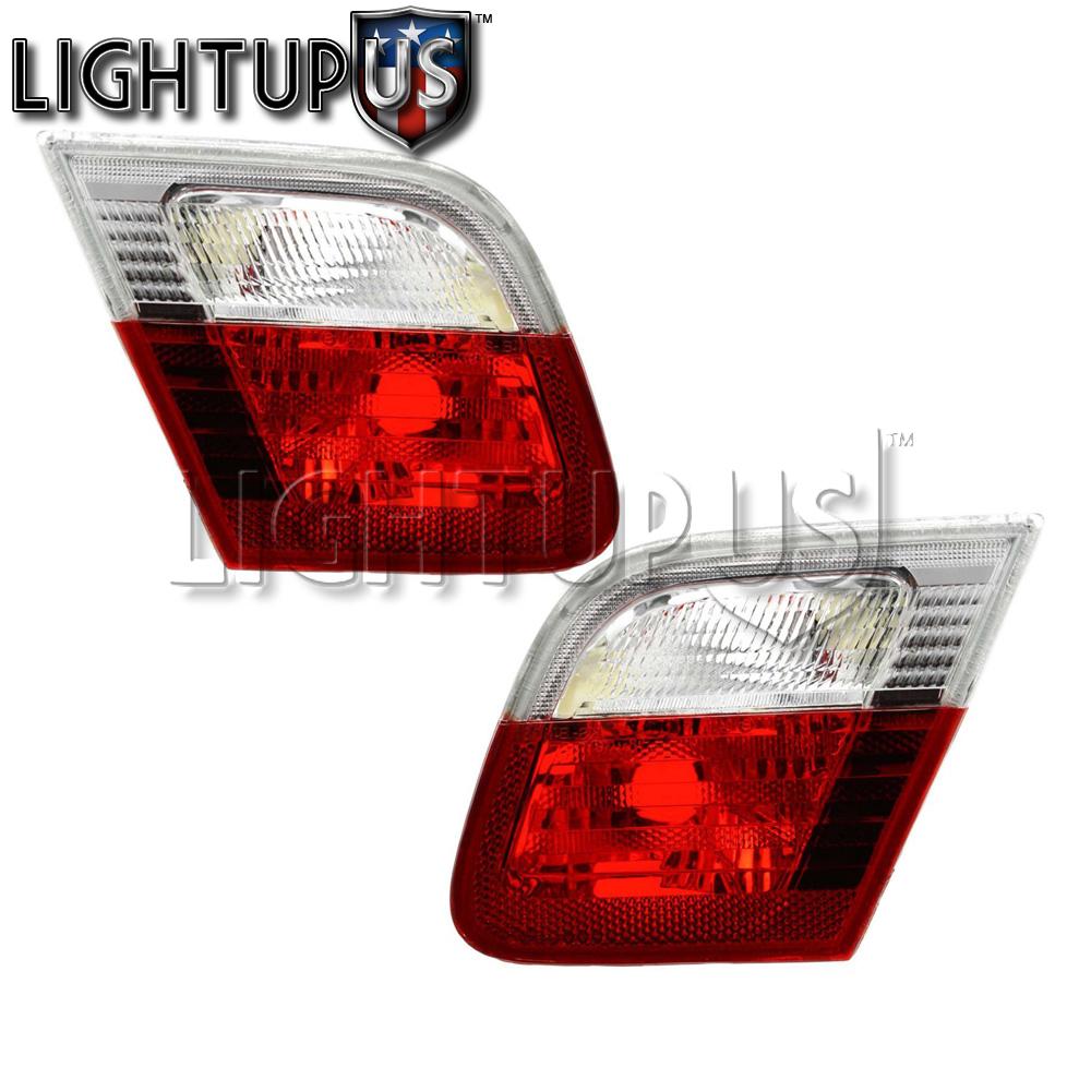 Left Right Pair Inner Brake Tail Lights for 1999-2003 BMW 323CI 325CI 328CI 330C