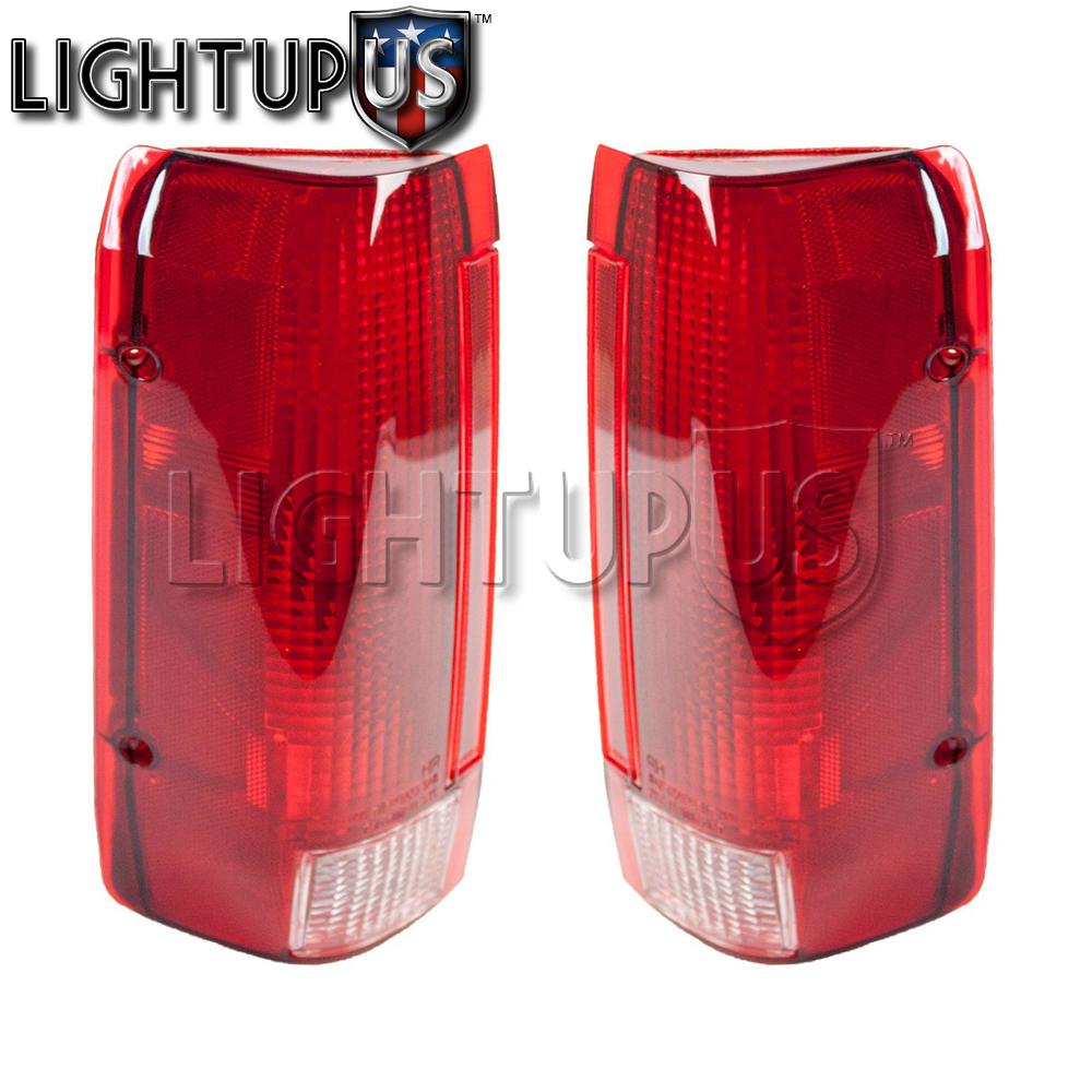 NEW TAIL LIGHT PAIR FITS FORD F150 F250 F350 E9TZ-13405-C FO2800106 E9TZ-13404-C