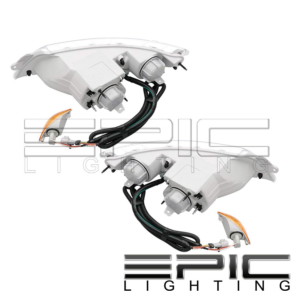 Left Right Pair Signal Headlights For International 4100