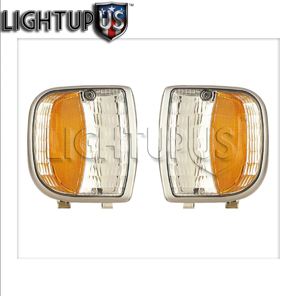 Left Right Pair Park Signal Lights For 1994